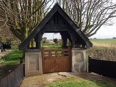 Lychgate in oak for St. Clements, Saltfleetby.